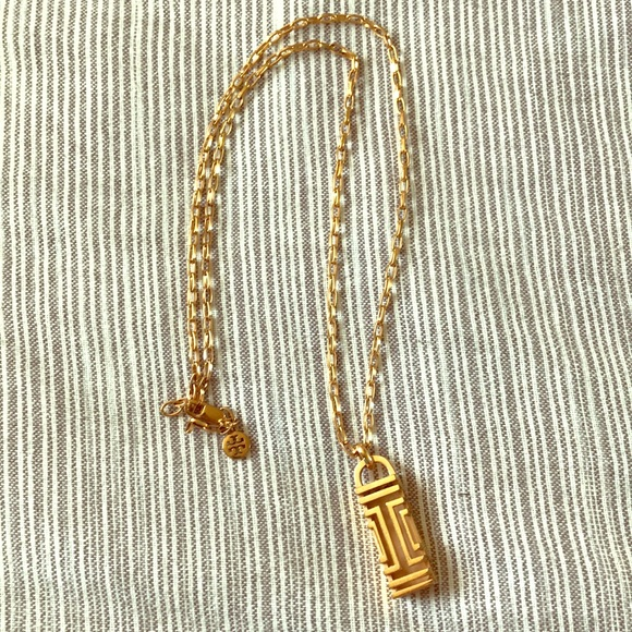 Tory Burch Rose Gold Fitbit Pendant